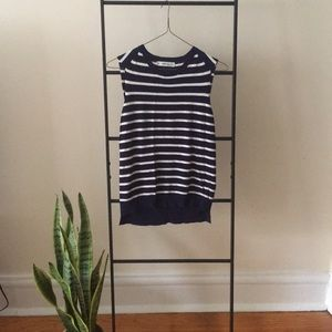 Zara knit striped top